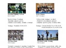 Tréningový program 2014-2015
